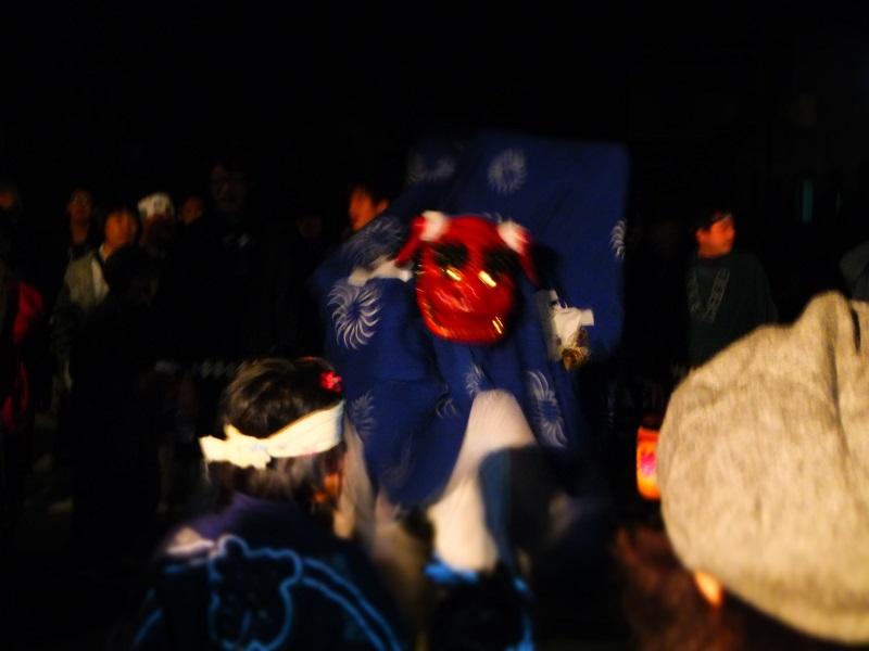 2014竹灯籠 獅子舞