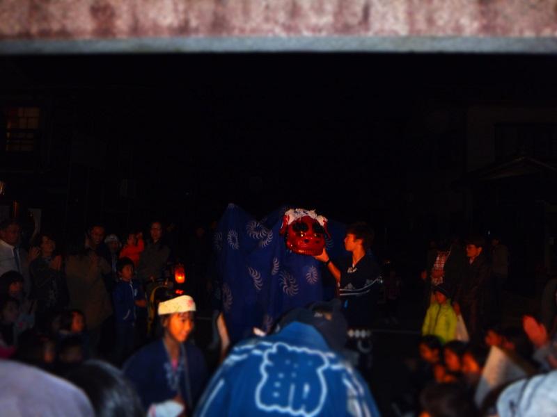 2014竹灯籠 獅子舞2