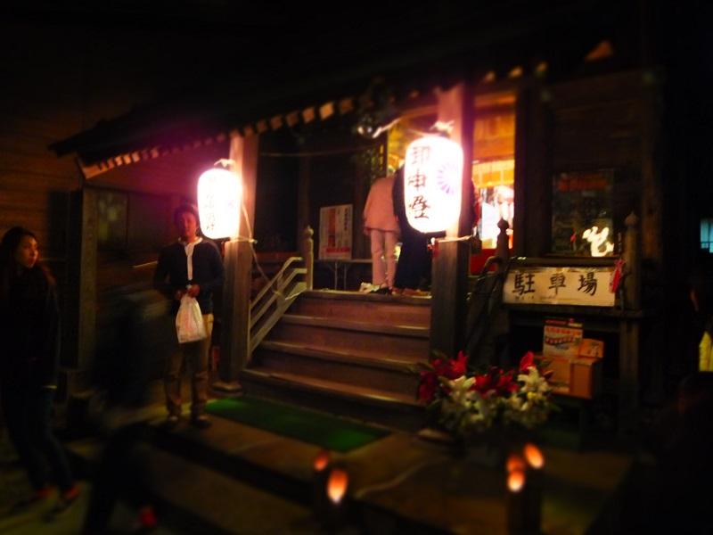 2014竹灯籠 神社