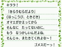 キララの街森プレイ日記-buro