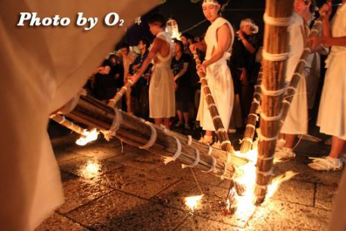 姥神大神宮渡御祭 下町巡幸 宿入れの儀