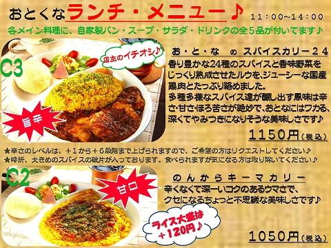 ランチプレートメニューrenewal_curry