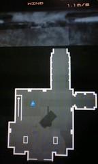戦車格納庫1F-地図-エレベータ左上