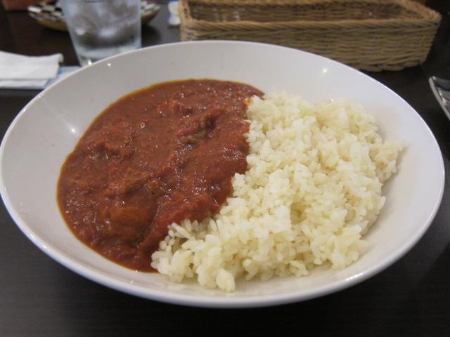 トマトチキンマサラカレー