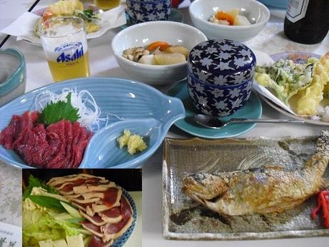 7 乗鞍高原宿の夕食