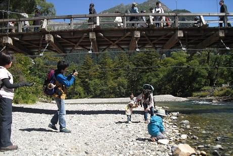 4 河童橋と梓川