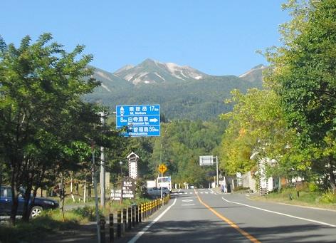 1 乗鞍高原から乗鞍岳