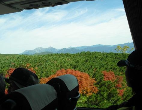 3a 車窓から穂高岳