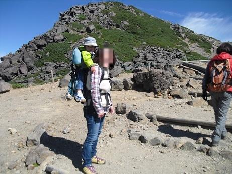 5a 登山開始直後