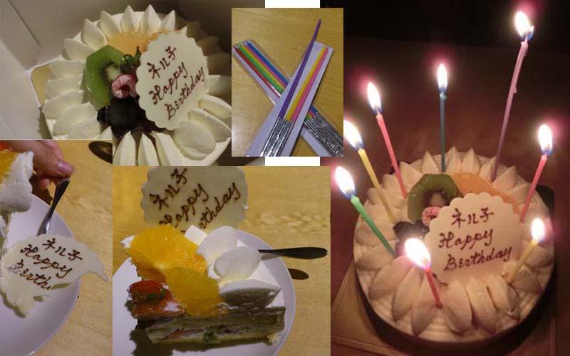 ネル子誕生日ケーキまとめ