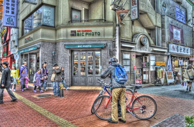 HDR-東京