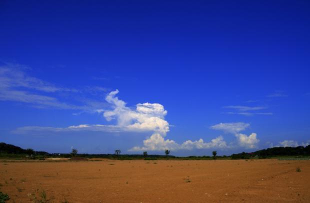 積乱雲-HDR