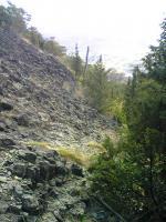 1飯野山岩場コース1