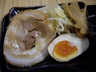 空一 つけ麺(トッピング)