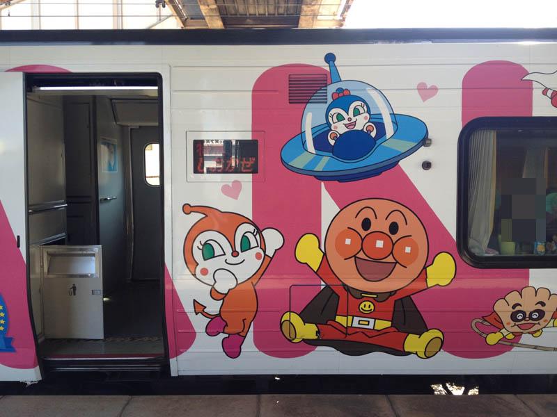 あんぱんまん列車