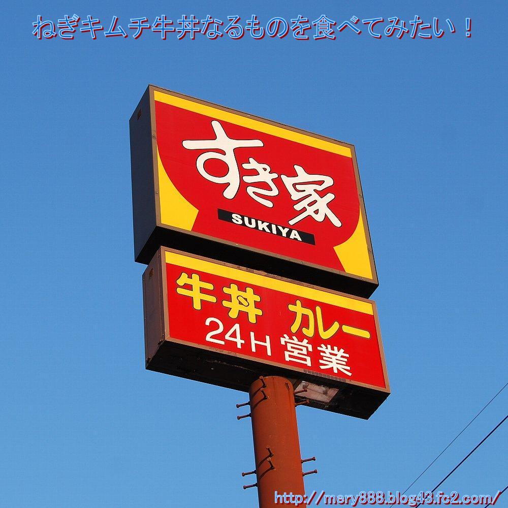 千葉の田舎には すき屋さんが多いです。