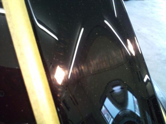 BMW ミニ クロスオーバー@ピラーカバー ビフォア