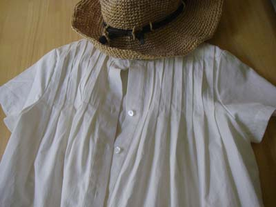 裂けた服の修理3