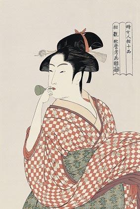 喜多川歌麿 婦女人相十品