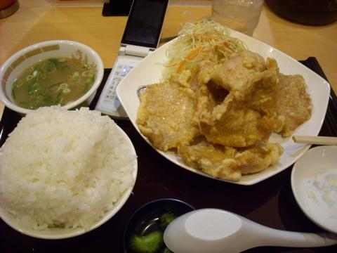 豚天ぷら定食