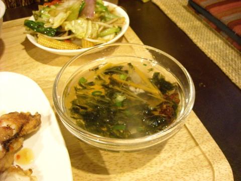 海苔のスープ