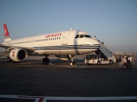 エアマルタ KM100便 エアバスA320