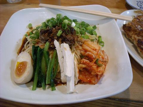 ビリカラ冷麺