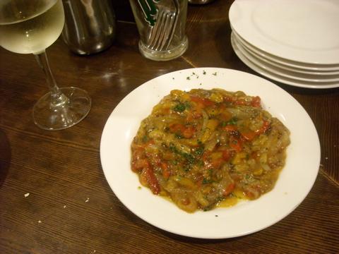 串焼き野菜のサラダ