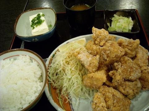 テンカラ定食