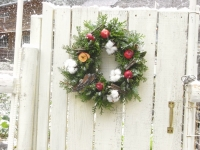 2012.12 genkanchristmas wreath 026