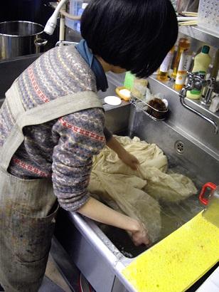 精練 洗い2