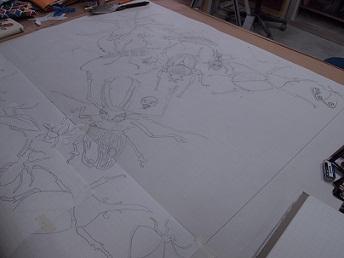 甲虫 デザイン