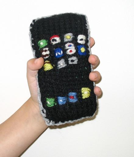 iPhone4毛糸