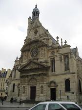 サンテチエンヌ・デュ・モン教会