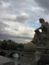 オルセーのバルコンからの眺め