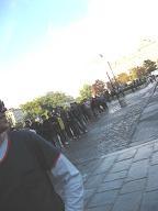 ノートルダムの塔の行列