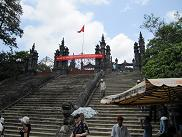 カイディン廟の階段