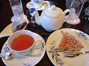 お茶と松の実のケーキ