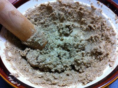 胡麻豆腐 すりすり