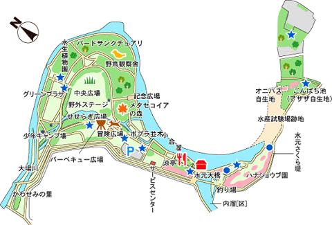 s水元公園Map