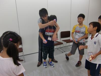 神戸市灘区ジャグリング教室, みっきゅん