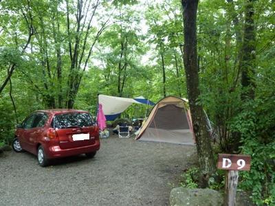 2011年8月 三景園(白州)キャンプ 002 ブログ