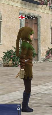 狩人の服 横