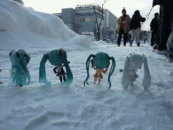雪ミク祭り18