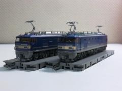 EF510-500 貨物仕様 両社並び