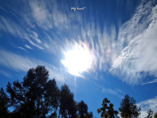 紅葉・雲3