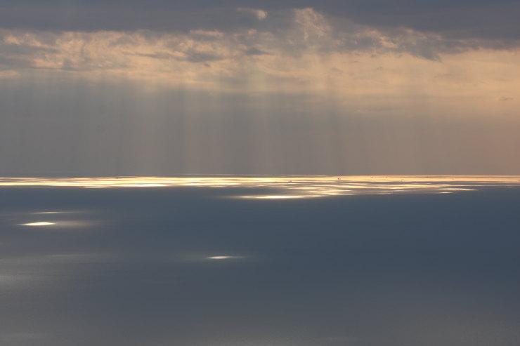 大星山展望台から