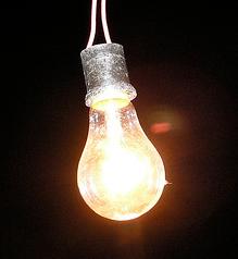 白熱電球写真