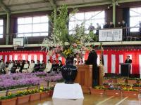 2012.4.9 泉川小学校入学式1