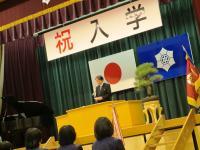 2012.4.10 泉中入学式1